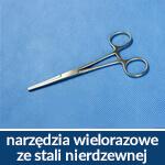 narzędzia wielokrotnego użytku ze stali nierdzewnej