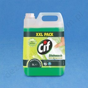 Cif Professional Dishwash Extra Strong Lemon  5 L